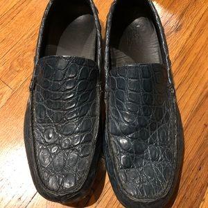 Prada Crocodille Loafers (men's)